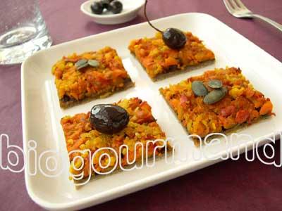Pâte brisée sans gluten à l'huile d'olive pour une tarte au ...