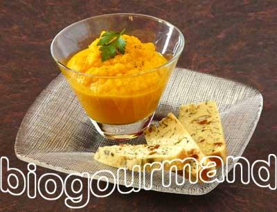 Gateau carotte bio