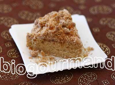 Streusel alsacien sans gluten au gingembre confit blog recettes bio cuisine bio sans gluten - Kouglof alsacien recette en video cuisine ...