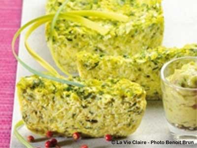 terrine de poireaux pour une entrée vert tendre - blog cuisine bio