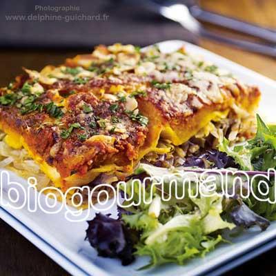 Lasagnes Végétariennes Sans Gluten Au Potimarron Blog Cuisine - Cuisine vegetarienne blog