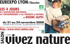 Salon vivez nature lyon blog cuisine bio recettes bio for Salon vivez nature lyon 2017