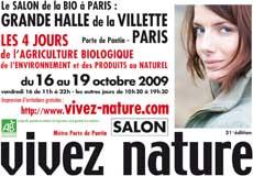 Salon vivez nature paris blog cuisine bio recettes bio for Salon vivez nature